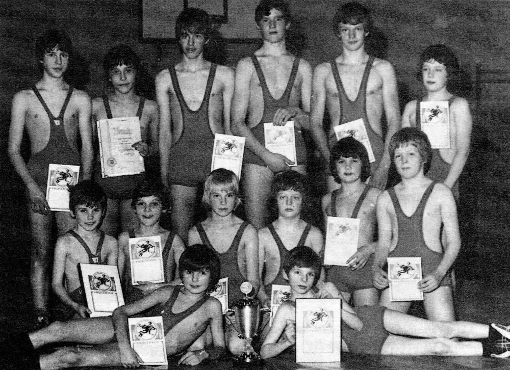 Schülermannschaft 1979
