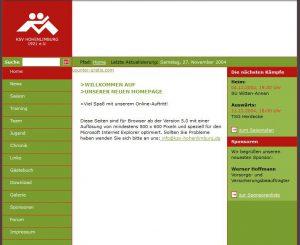 KSV-Website 2004