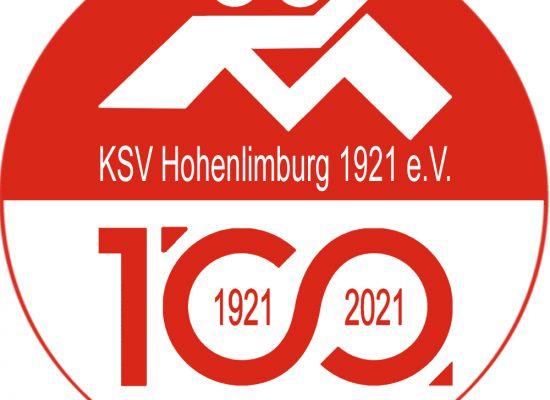 Logo 100 Jahre KSV Hohenlimburg 100cmx100cm