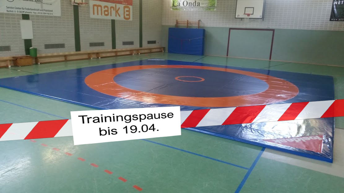 Trainingspause